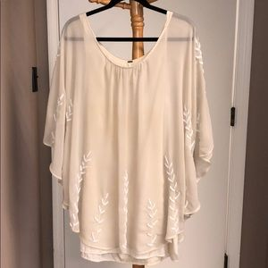 Free People poncho dress